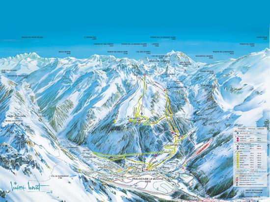 Image alpes express pralognan la vanoise carte