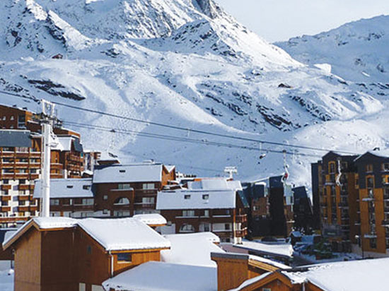 Image alpes express val thorens altineige