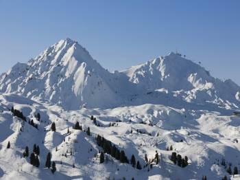 (Vignette) vignette France Belle Plagne le Centaure ski slopes