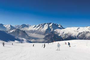 (Vignette) vignette France alpes huez sport ski montagne ciel bleu 36 as_10309109
