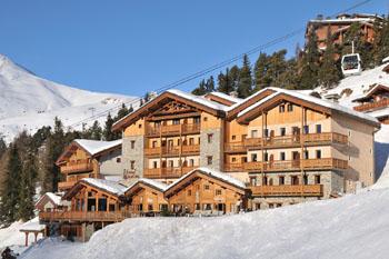 Vignette) vignette france la plagne les balcons de belle plagne alpes express