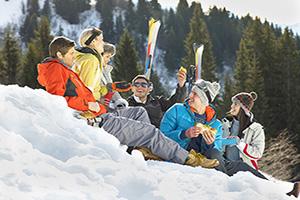 (vignette) Vignette skieurs neige parler  it