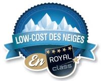 vignette alpes express logo low cost neige